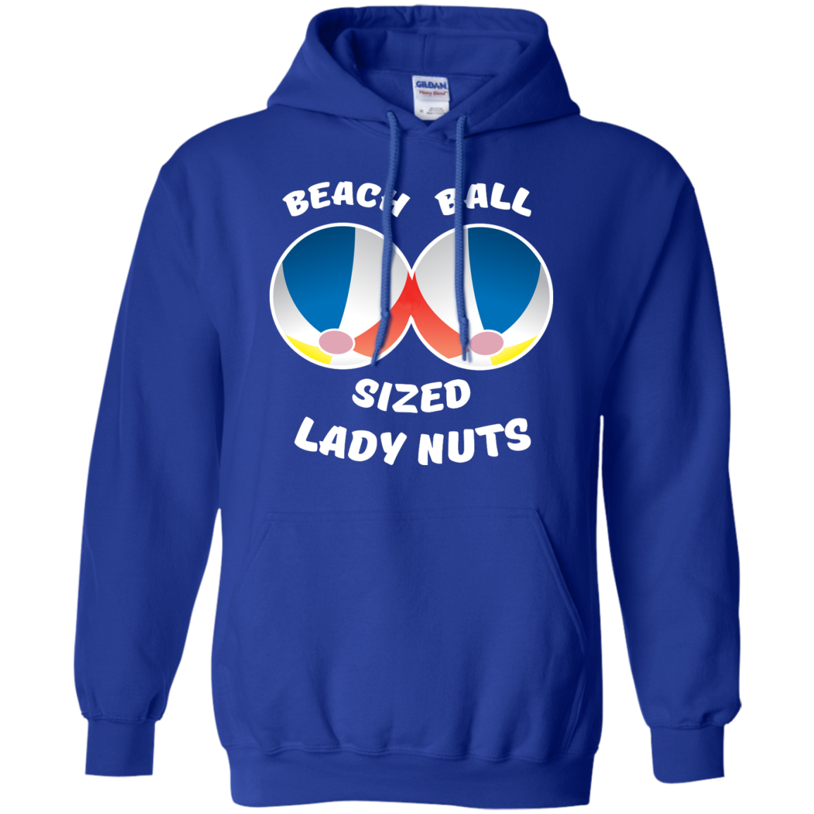 image 132px Beach Ball Sized Lady Nuts T Shirts & Hoodies