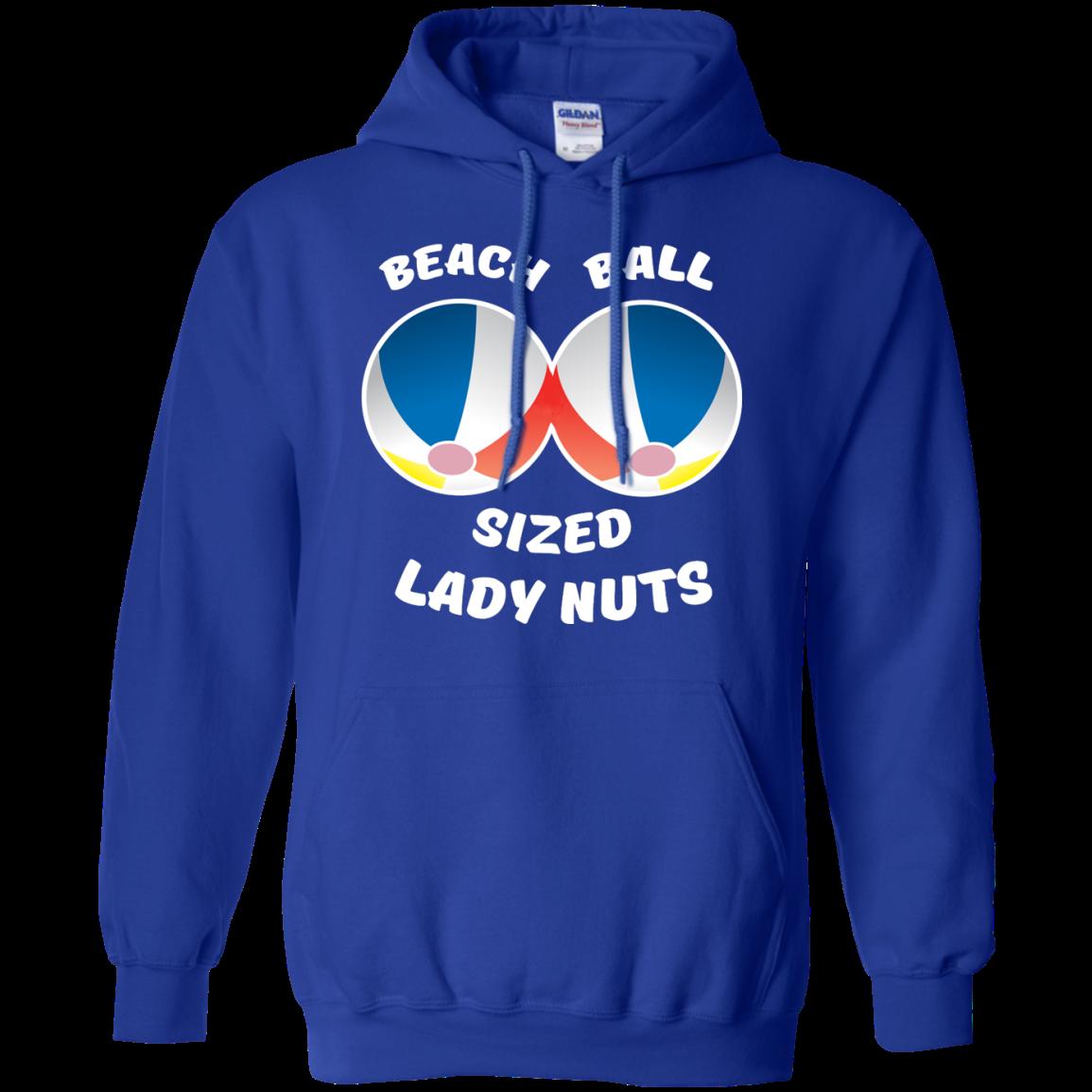 image 132px Beach Ball Sized Lady Nuts T Shirts & Hoodies
