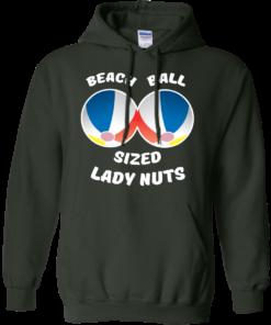 image 133 247x296px Beach Ball Sized Lady Nuts T Shirts & Hoodies