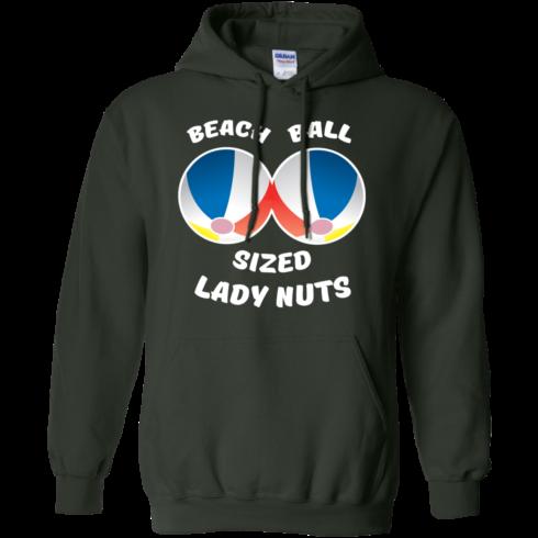 image 133 490x490px Beach Ball Sized Lady Nuts T Shirts & Hoodies