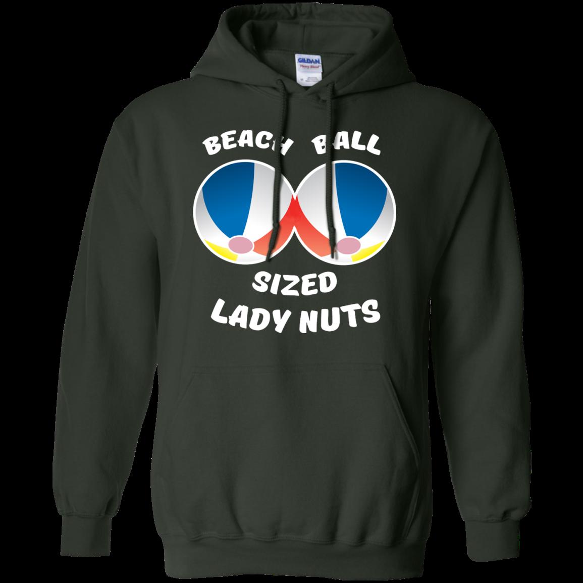 image 133px Beach Ball Sized Lady Nuts T Shirts & Hoodies