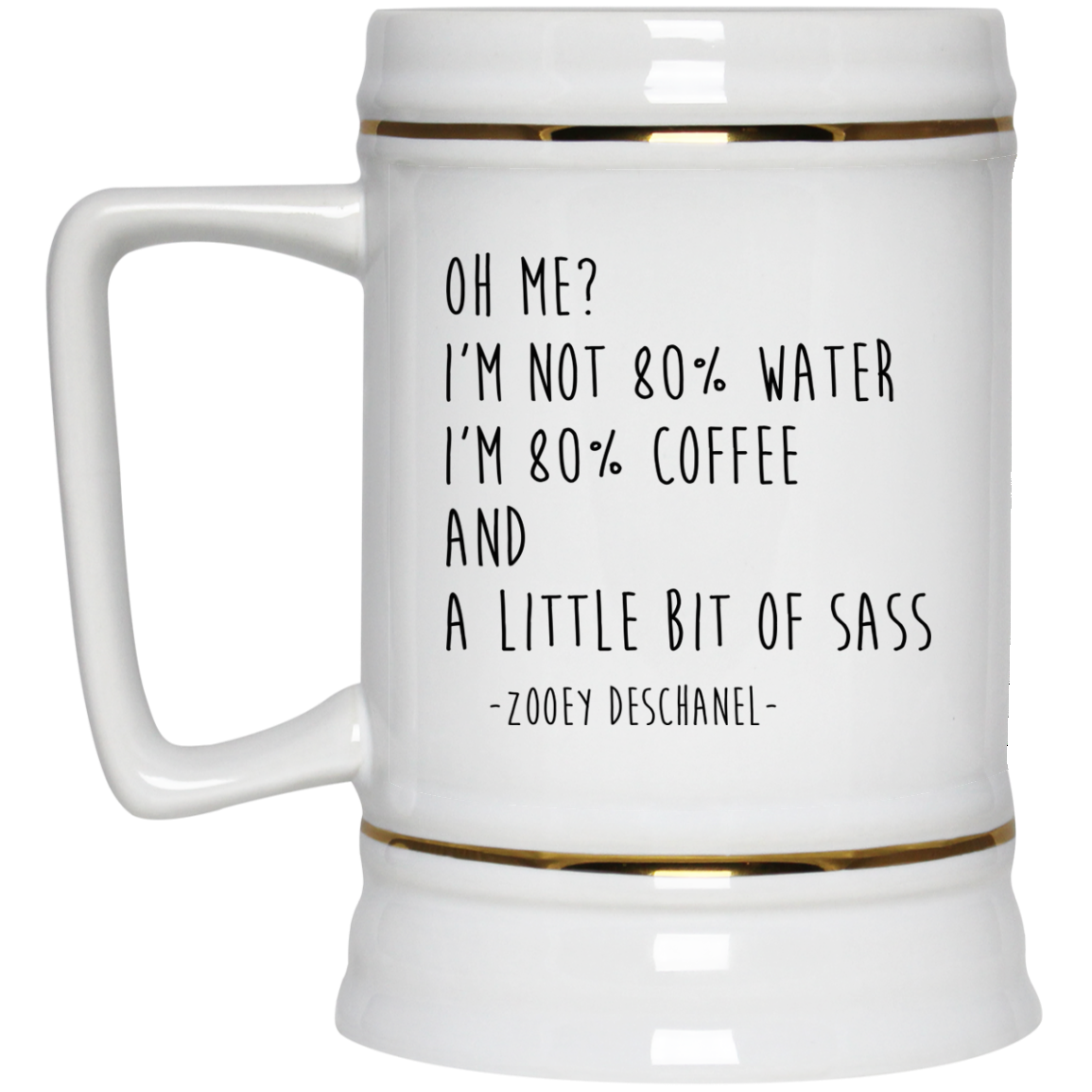image 150px I'm Not 80% Water I'm 80% Coffee Mug