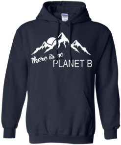 There is no Plannet B - Hoodies - Navy