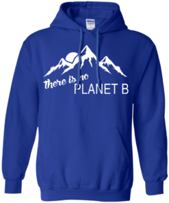 There is no Plannet B - Hoodies - Royal