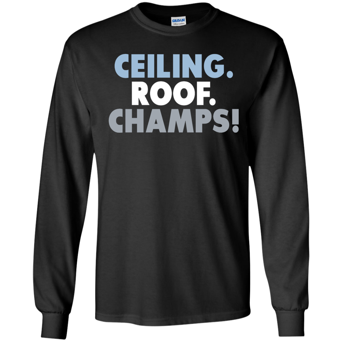 image 190px UNC Ceiling Roof Champs T Shirts & Hoodies