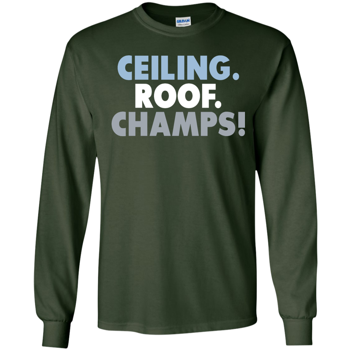 image 191px UNC Ceiling Roof Champs T Shirts & Hoodies