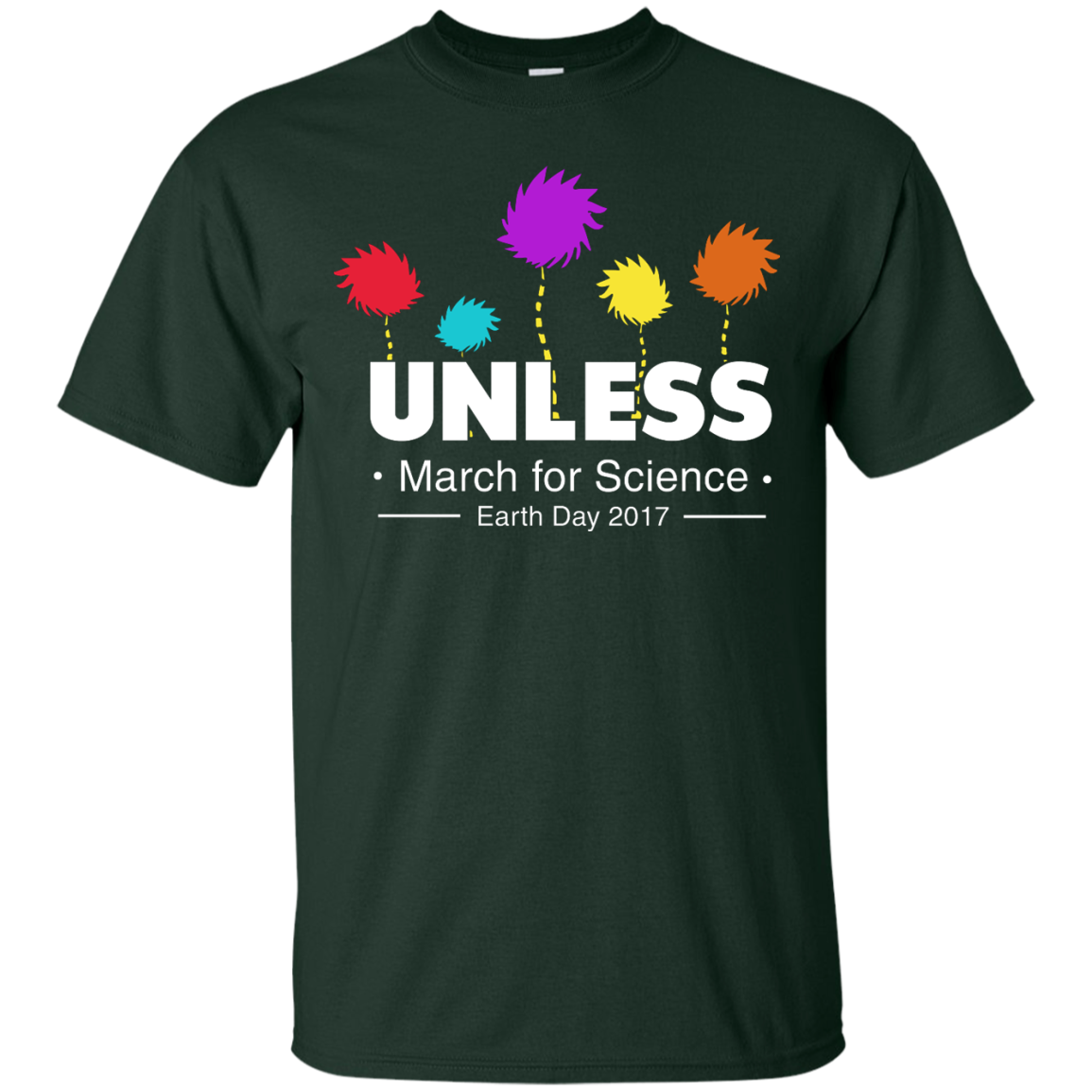 image 2px Tom Hanks: Unless, March For Science 2017 T Shirt