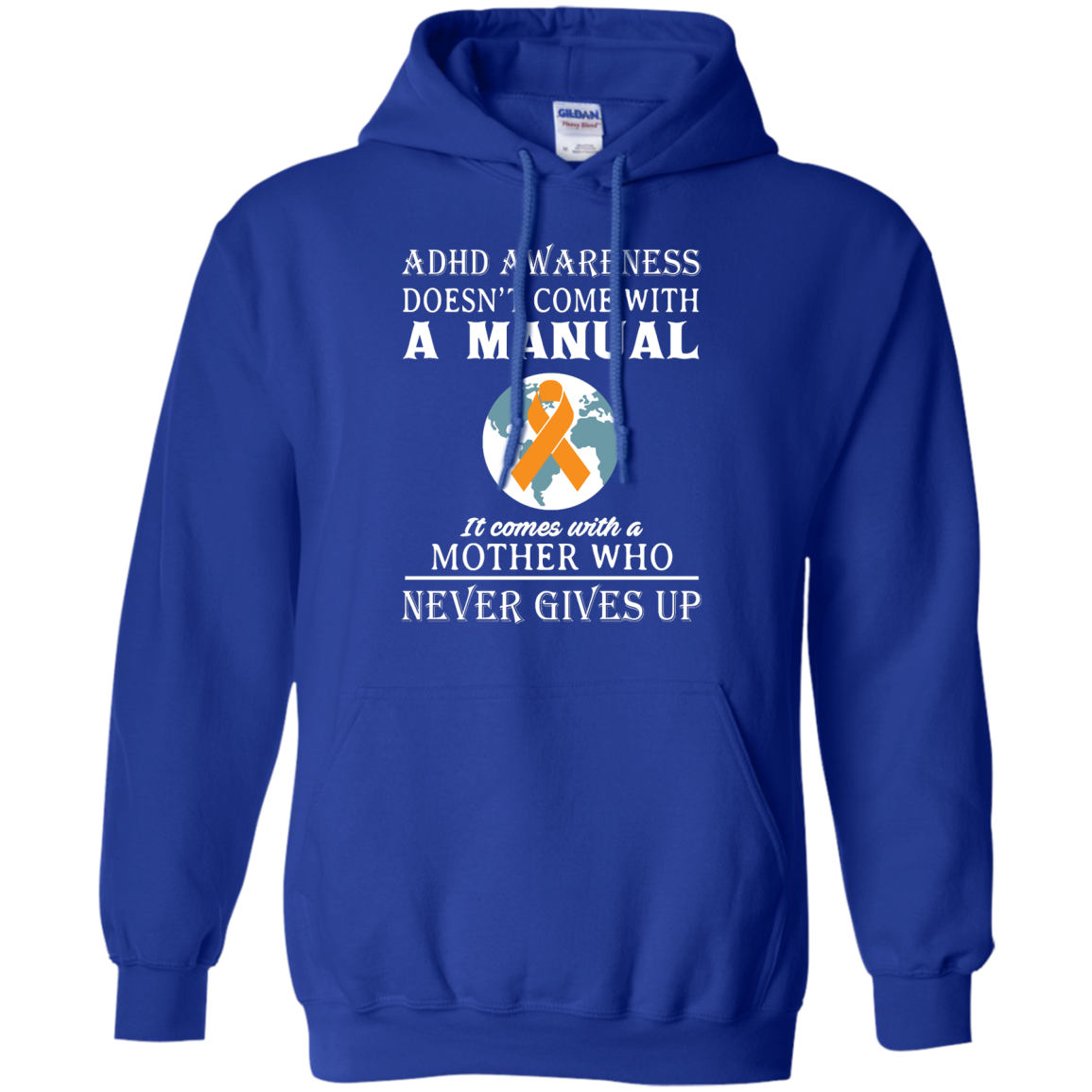 image 275px Adhd Awareness Shirt: It Come With a Mother Who Never Gives Up T Shirts
