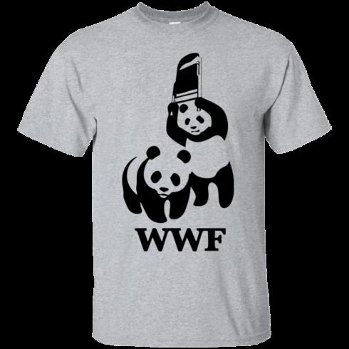 image 279 490x490px WWF Panda Bear Wrestling T Shirts