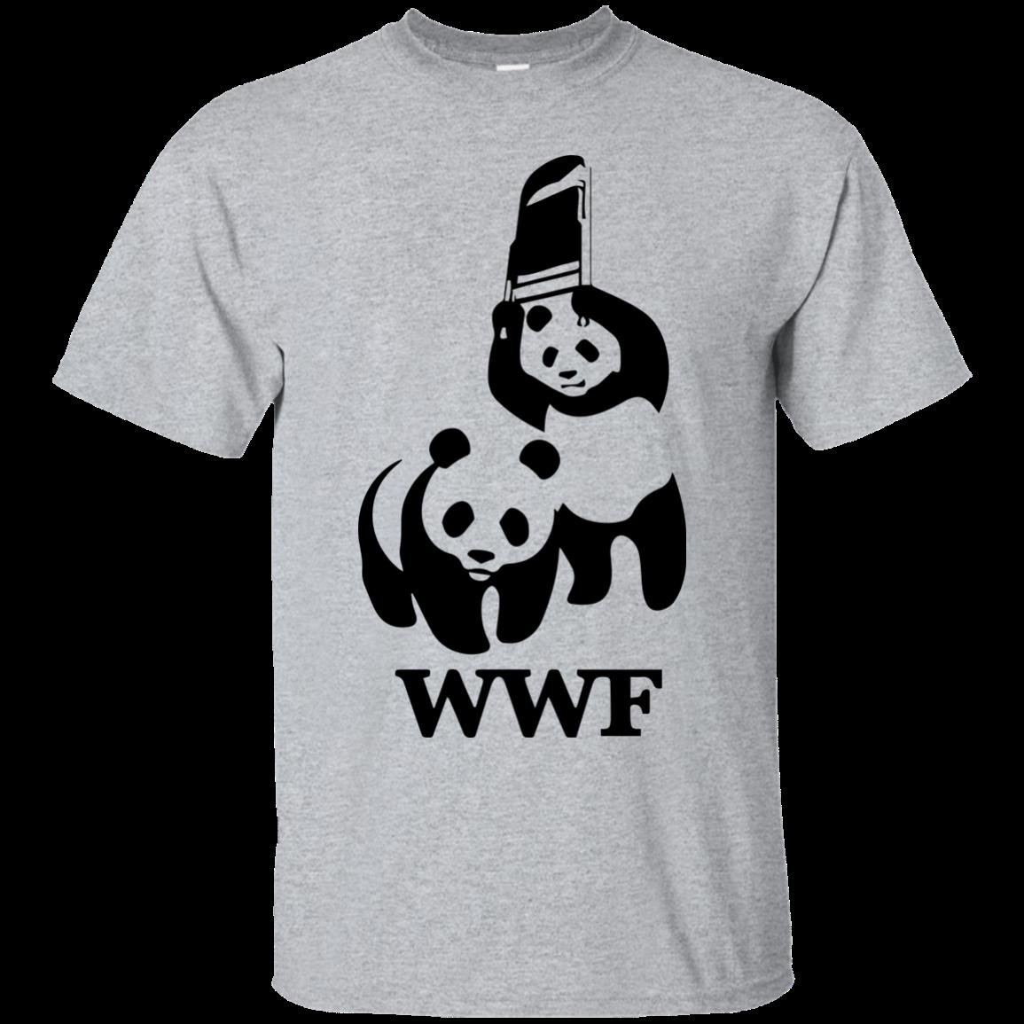 wwf panda bear wrestling t shirts. Black Bedroom Furniture Sets. Home Design Ideas