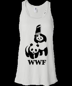 image 281 247x296px WWF Panda Bear Wrestling T Shirts