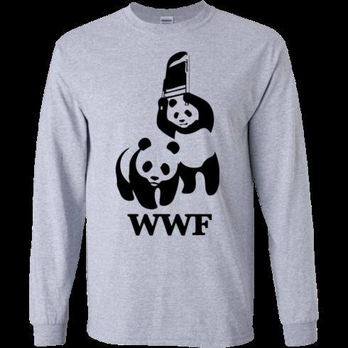 image 282 490x490px WWF Panda Bear Wrestling T Shirts