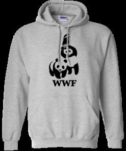image 284 247x296px WWF Panda Bear Wrestling T Shirts