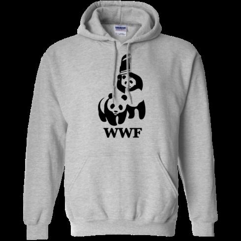 image 284 490x490px WWF Panda Bear Wrestling T Shirts