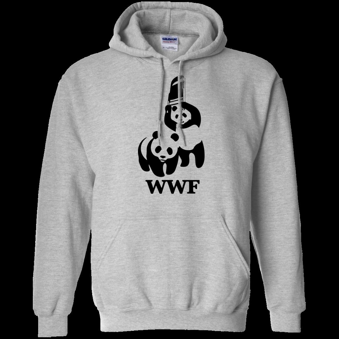 image 284px WWF Panda Bear Wrestling T Shirts