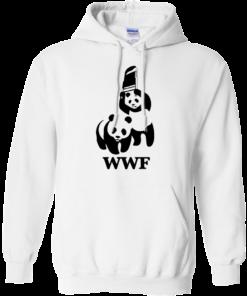 image 285 247x296px WWF Panda Bear Wrestling T Shirts