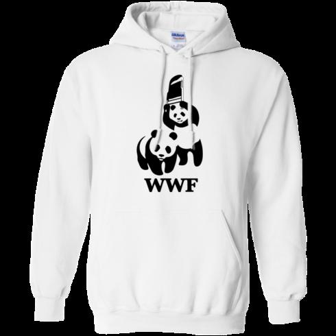 image 285 490x490px WWF Panda Bear Wrestling T Shirts