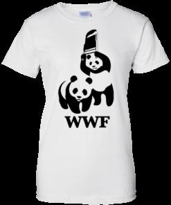 image 289 247x296px WWF Panda Bear Wrestling T Shirts
