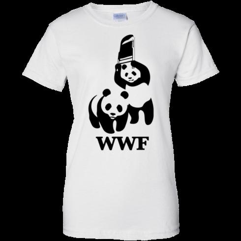 image 289 490x490px WWF Panda Bear Wrestling T Shirts
