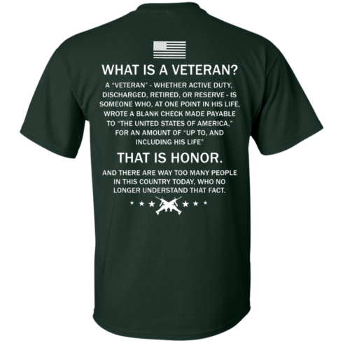 image 302 490x490px What Is A Veteran That Is Honor T Shirts, Hoodies & Tank Top