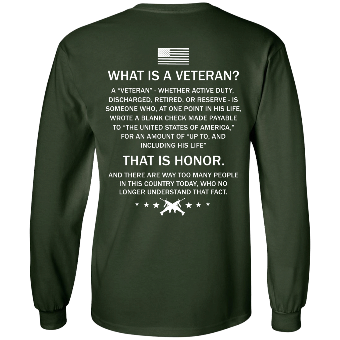 image 305px What Is A Veteran That Is Honor T Shirts, Hoodies & Tank Top