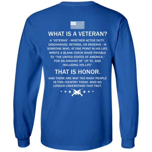 image 306 490x490px What Is A Veteran That Is Honor T Shirts, Hoodies & Tank Top