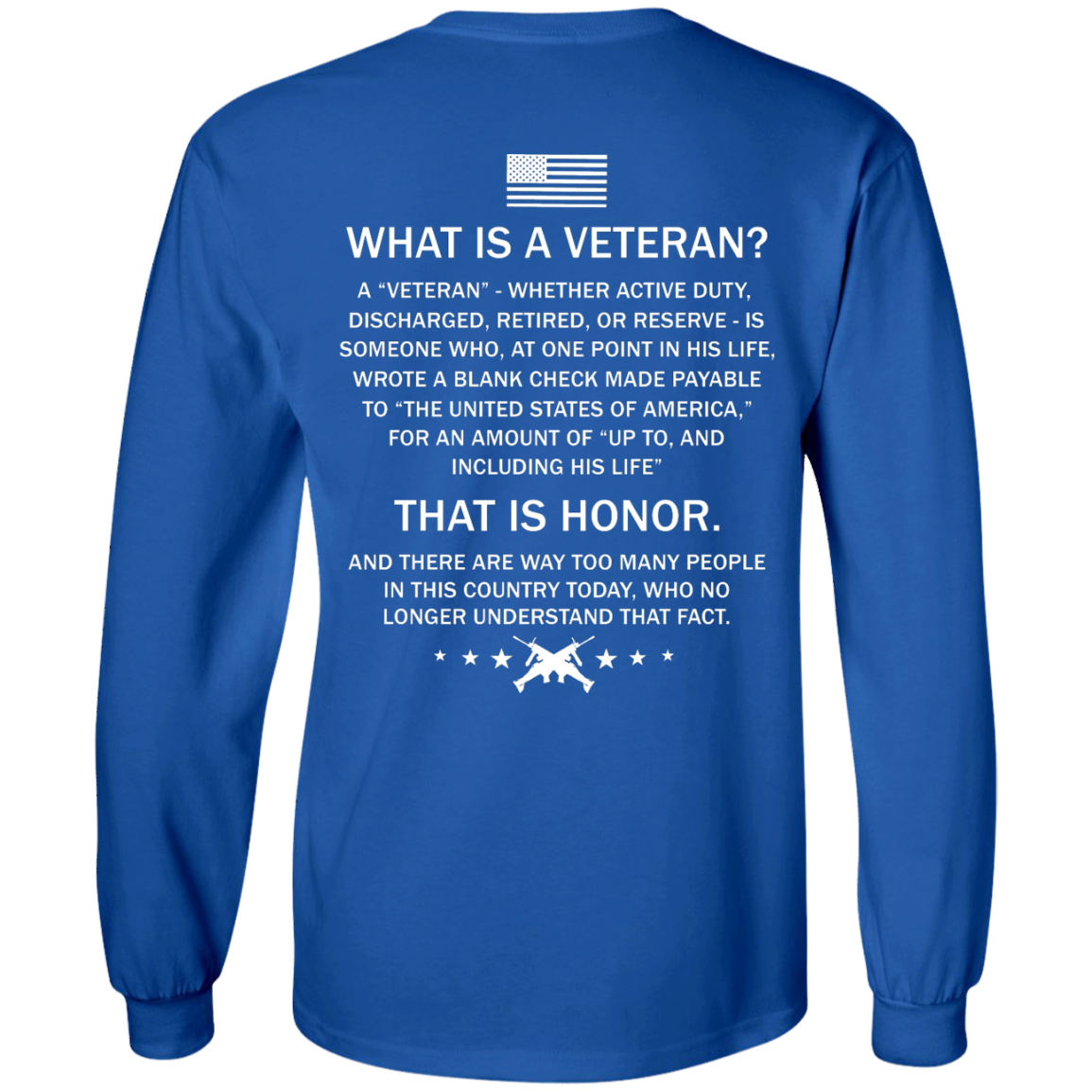 image 306px What Is A Veteran That Is Honor T Shirts, Hoodies & Tank Top