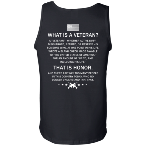 image 310 490x490px What Is A Veteran That Is Honor T Shirts, Hoodies & Tank Top