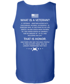 image 311 247x296px What Is A Veteran That Is Honor T Shirts, Hoodies & Tank Top