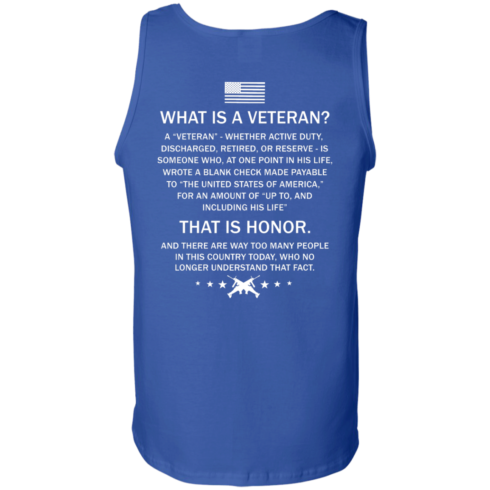 image 311 490x490px What Is A Veteran That Is Honor T Shirts, Hoodies & Tank Top
