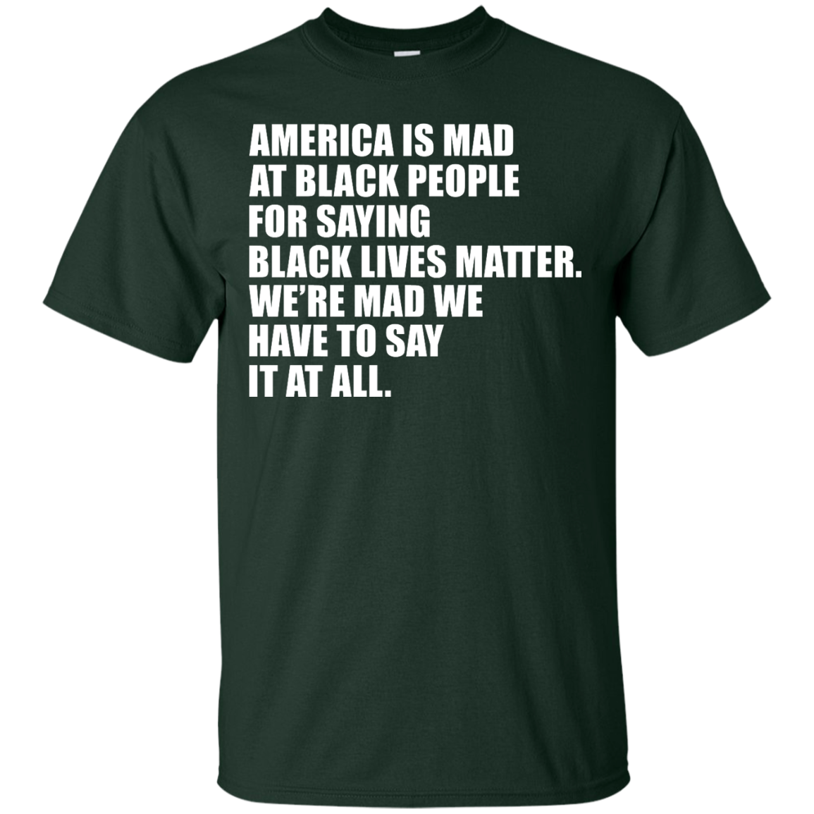 image 35px American Is Mad At Black People For Saying Black Lives Matter T Shirt