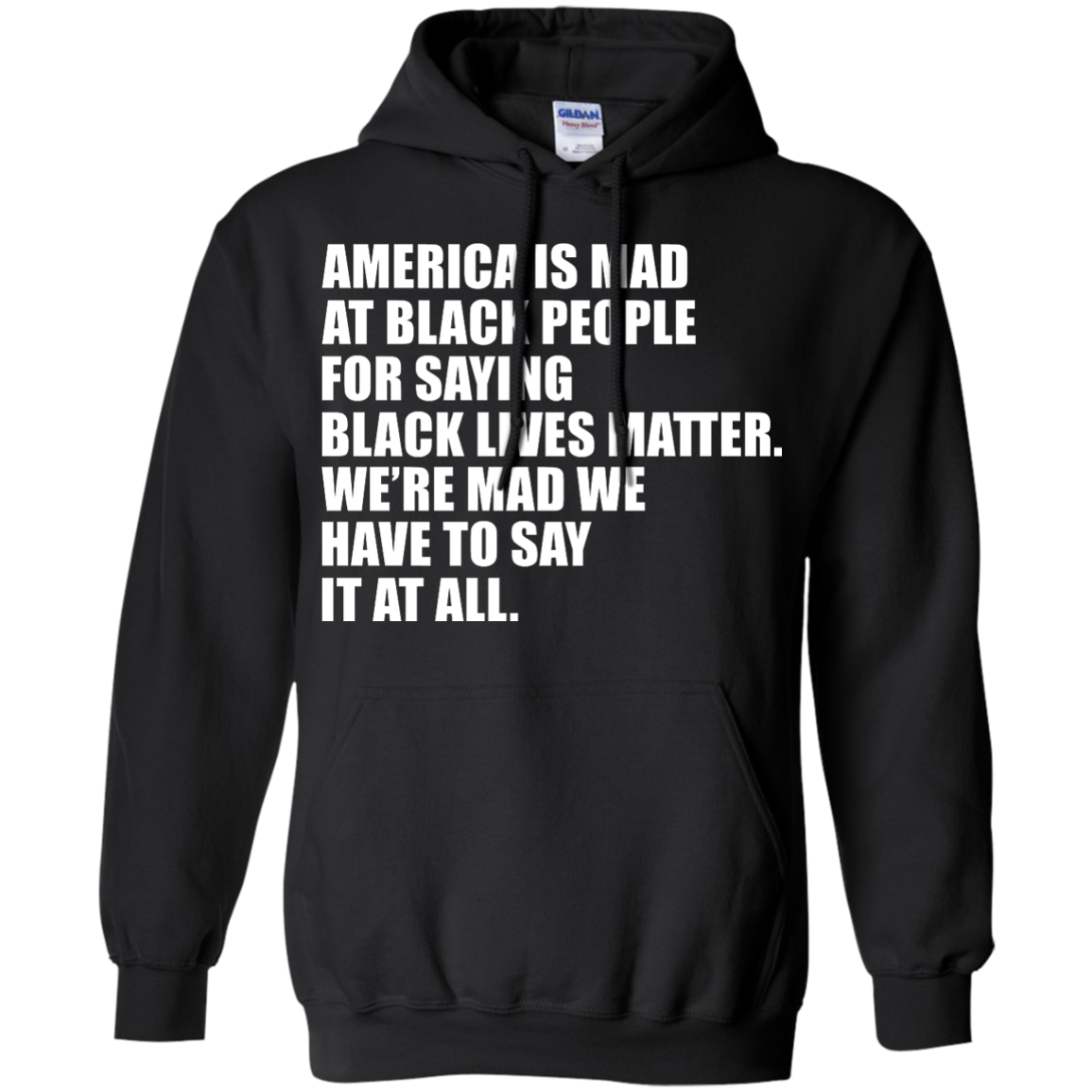 image 38px American Is Mad At Black People For Saying Black Lives Matter T Shirt