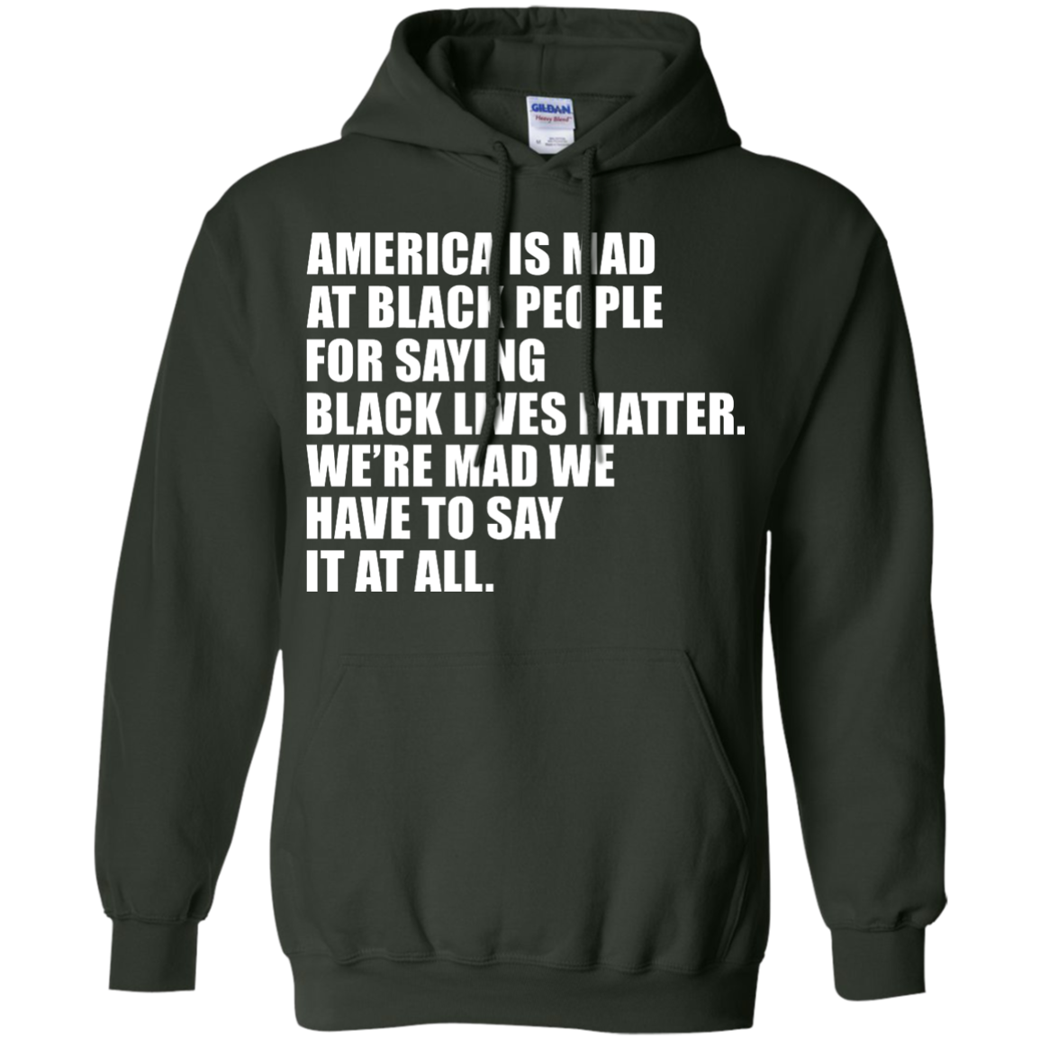 image 39px American Is Mad At Black People For Saying Black Lives Matter T Shirt