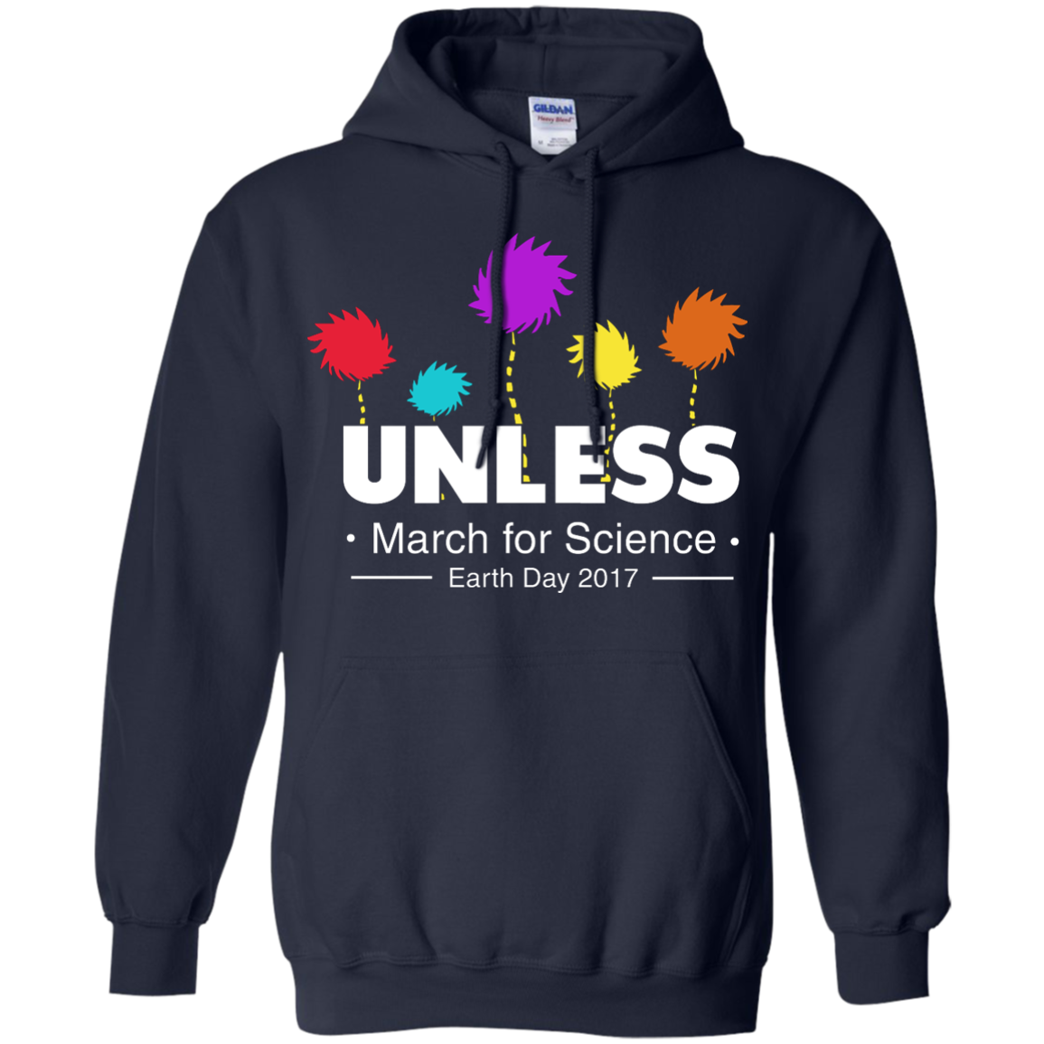 image 6px Tom Hanks: Unless, March For Science 2017 T Shirt