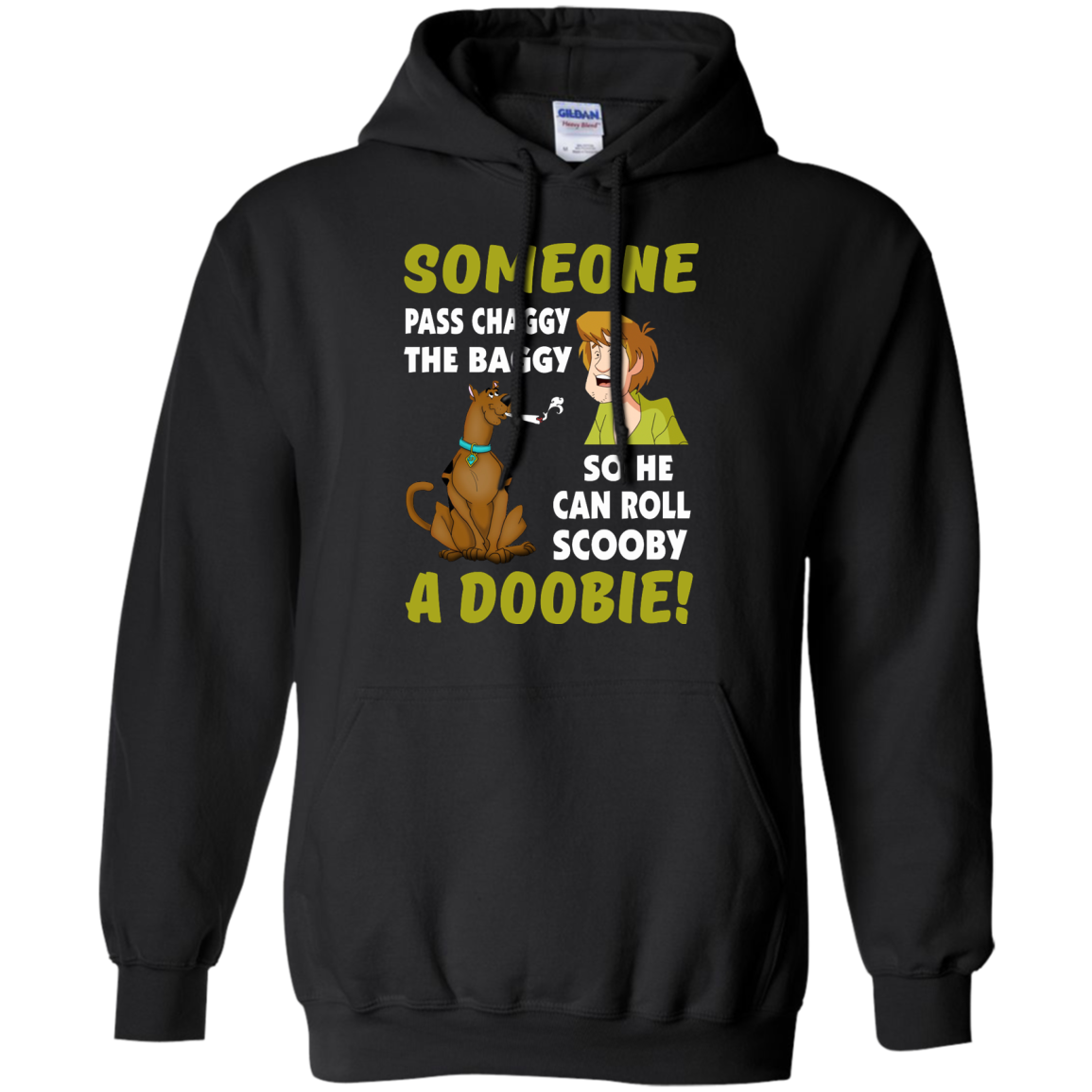 image 60px Scooby Doo: Someone Pass Chaggy The Baggy T Shirt
