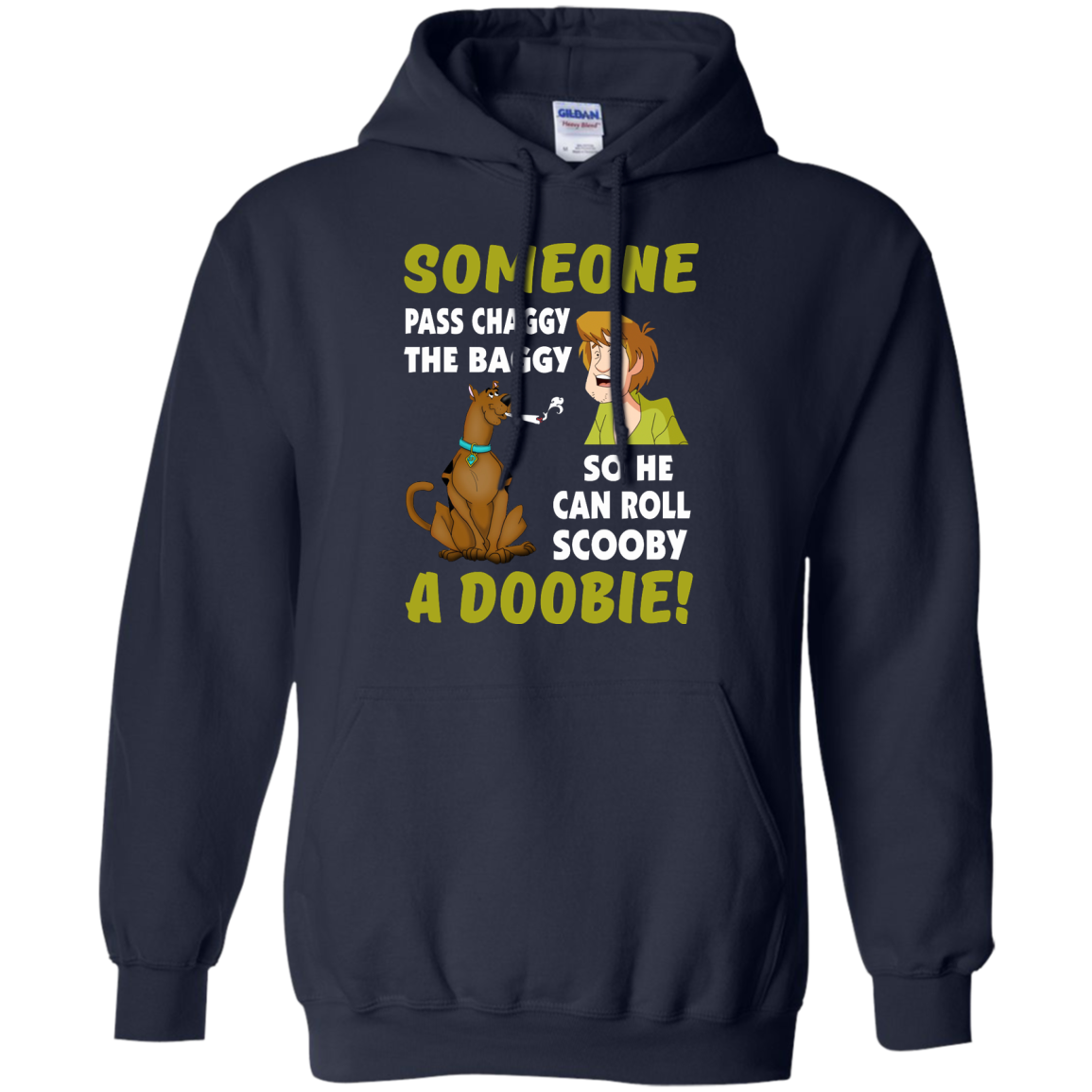 image 61px Scooby Doo: Someone Pass Chaggy The Baggy T Shirt