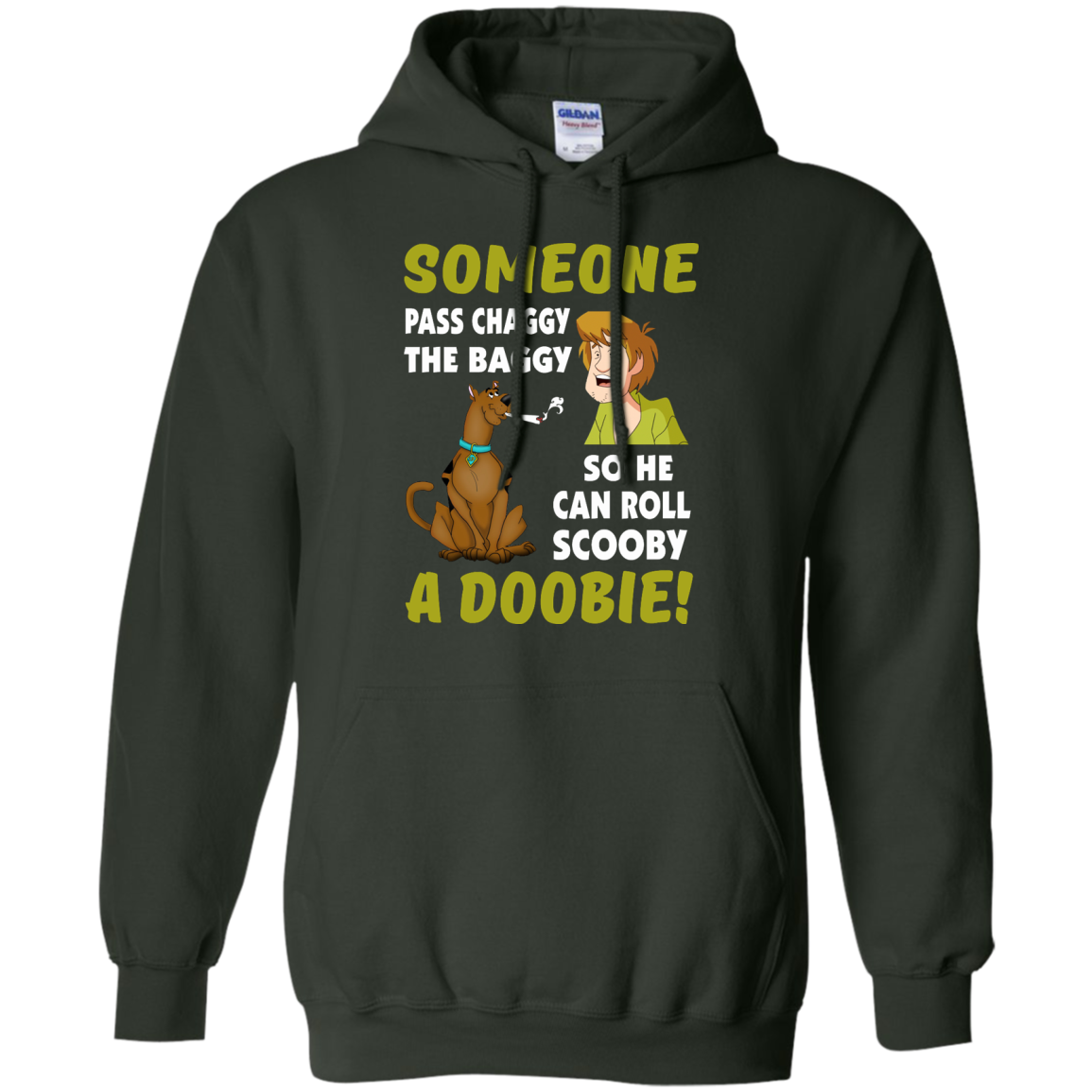 image 62px Scooby Doo: Someone Pass Chaggy The Baggy T Shirt