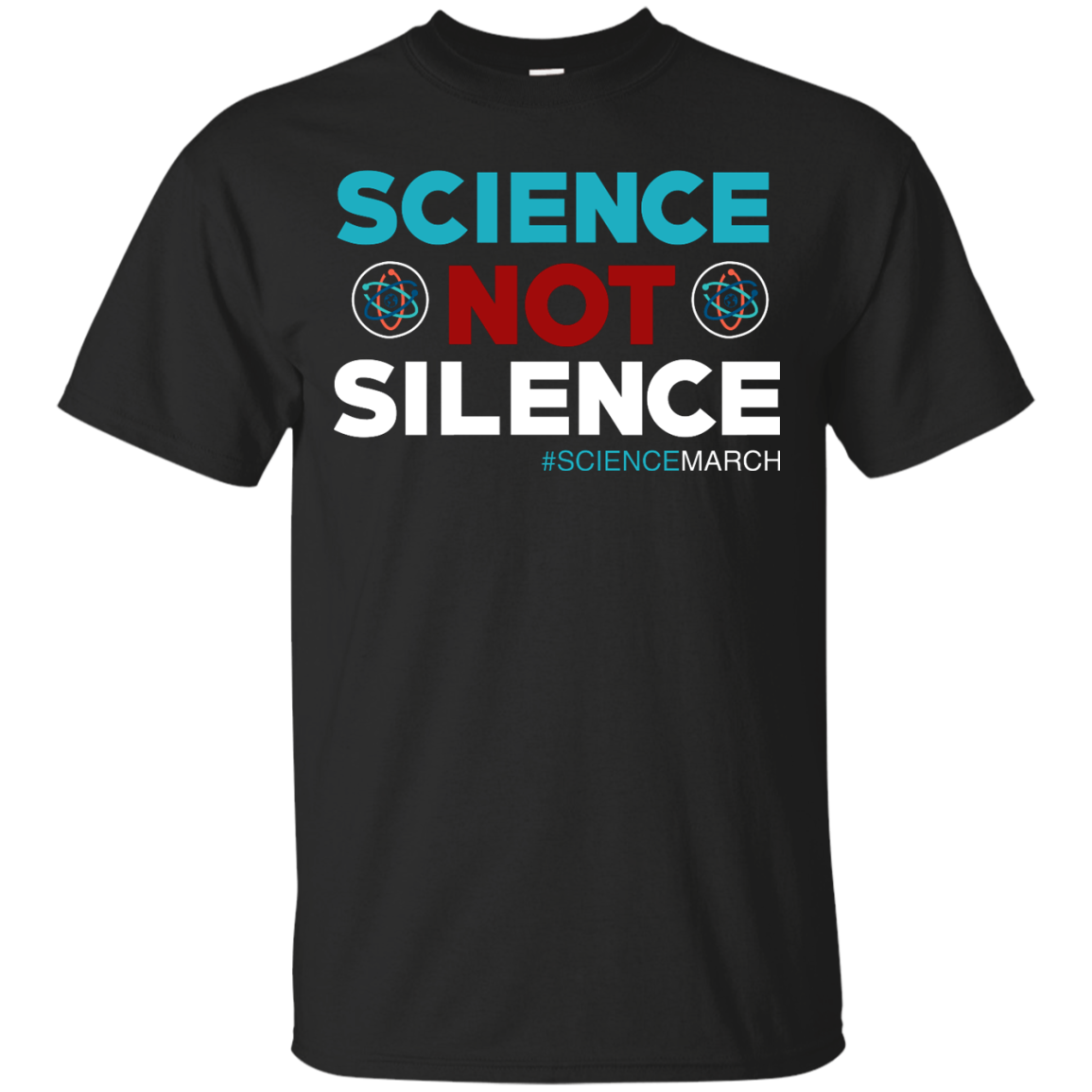image 69px Science Not Silence, Science March Shirt