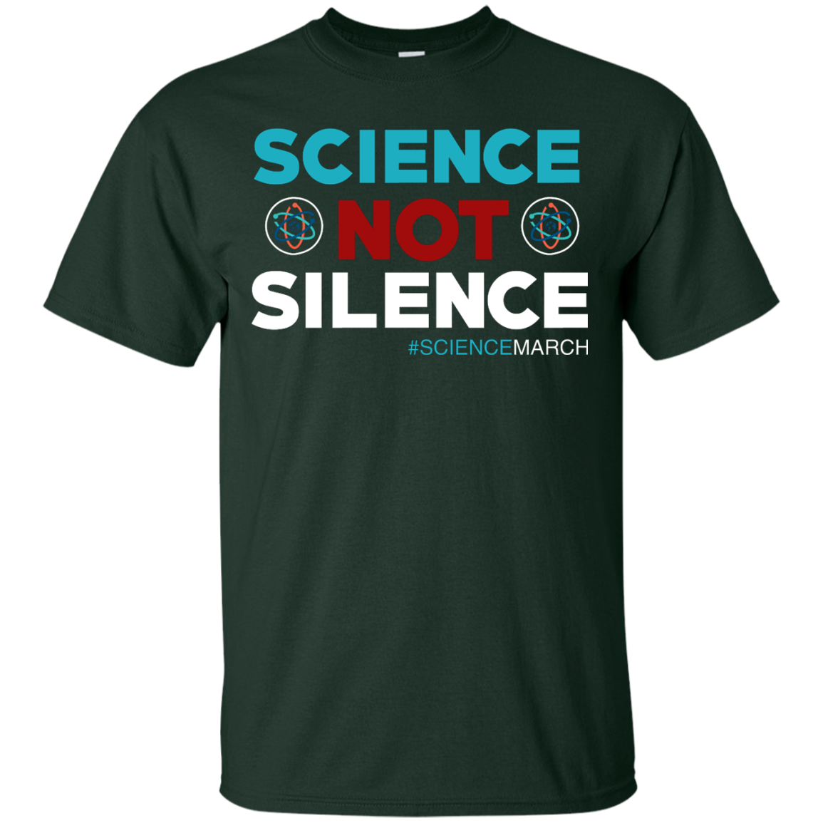 image 70px Science Not Silence, Science March Shirt