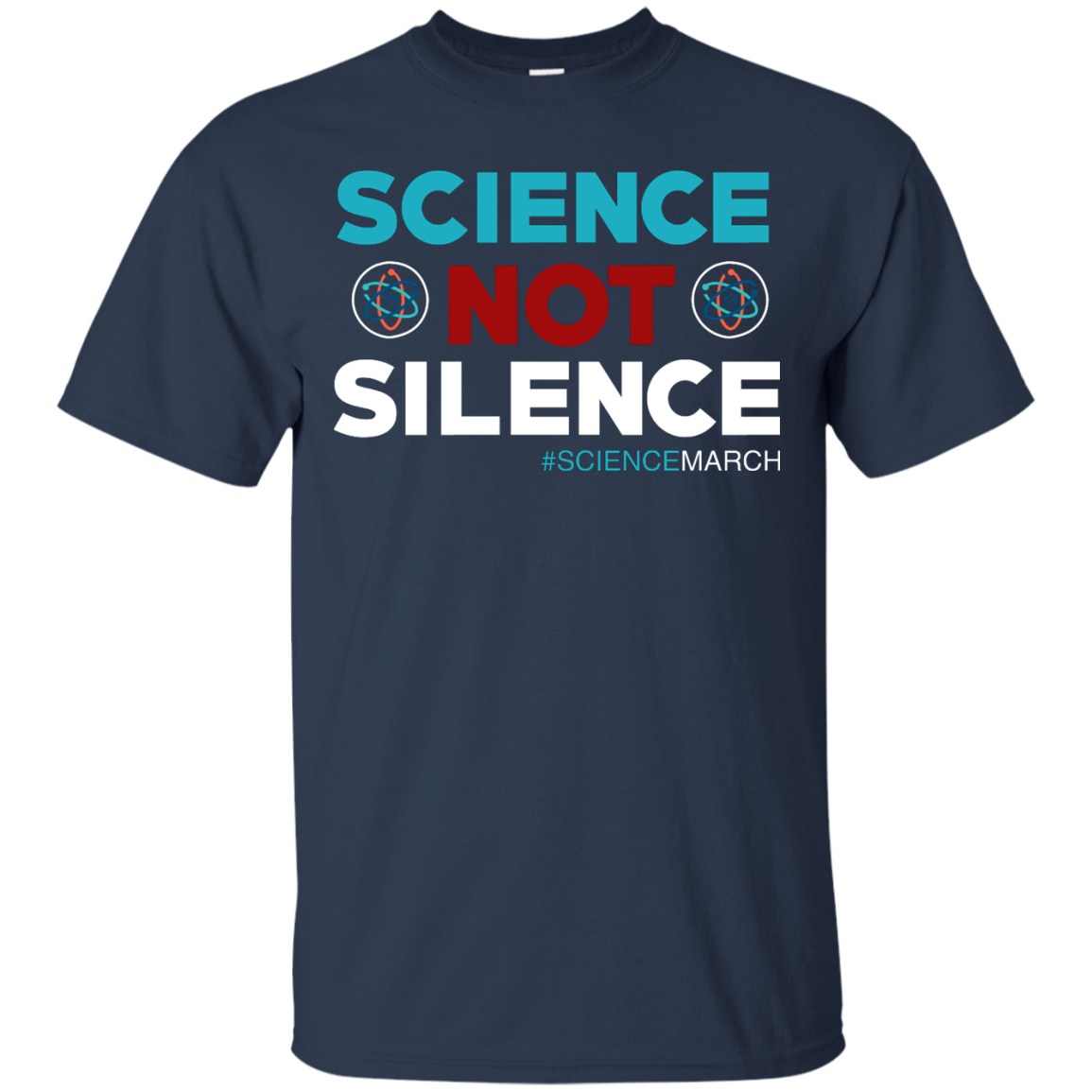 image 71px Science Not Silence, Science March Shirt