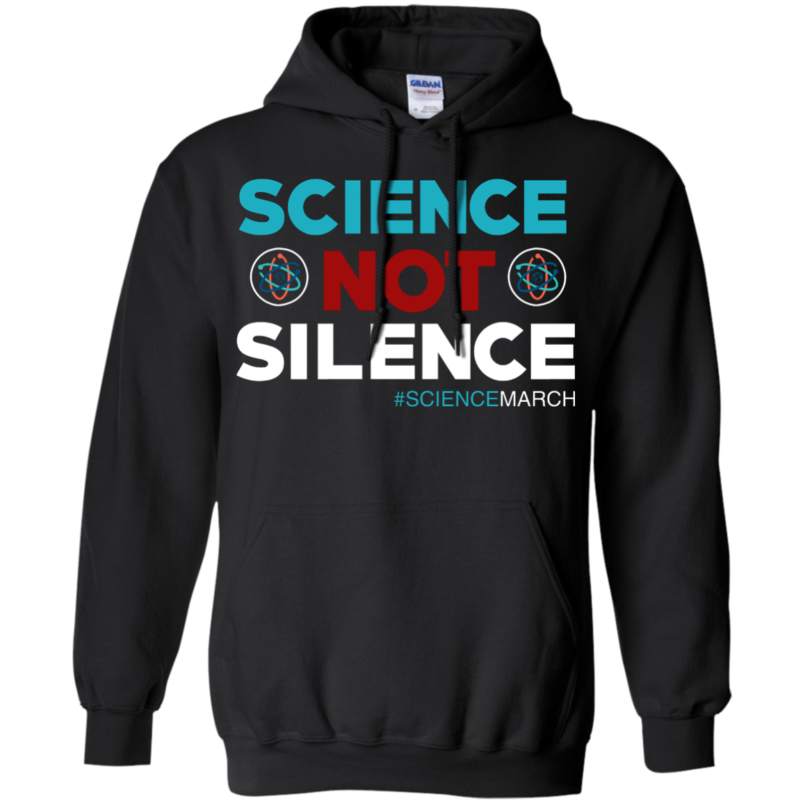 image 74px Science Not Silence, Science March Shirt