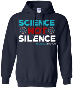 image 75 247x296px Science Not Silence, Science March Shirt