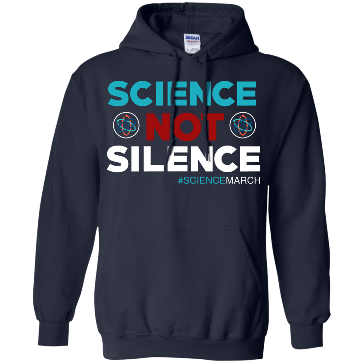 image 75px Science Not Silence, Science March Shirt