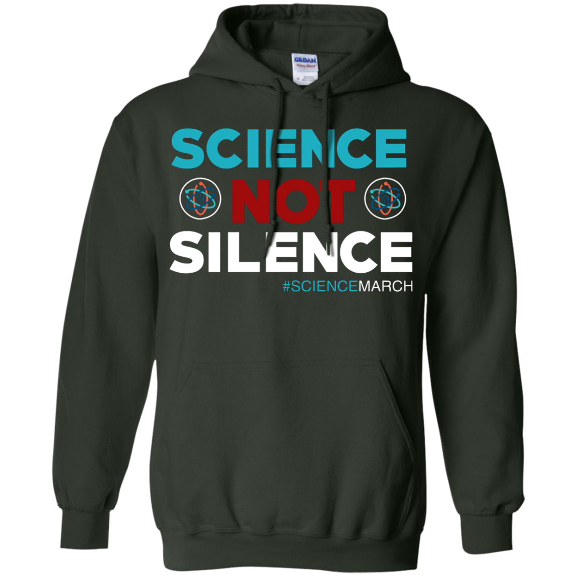 image 76px Science Not Silence, Science March Shirt