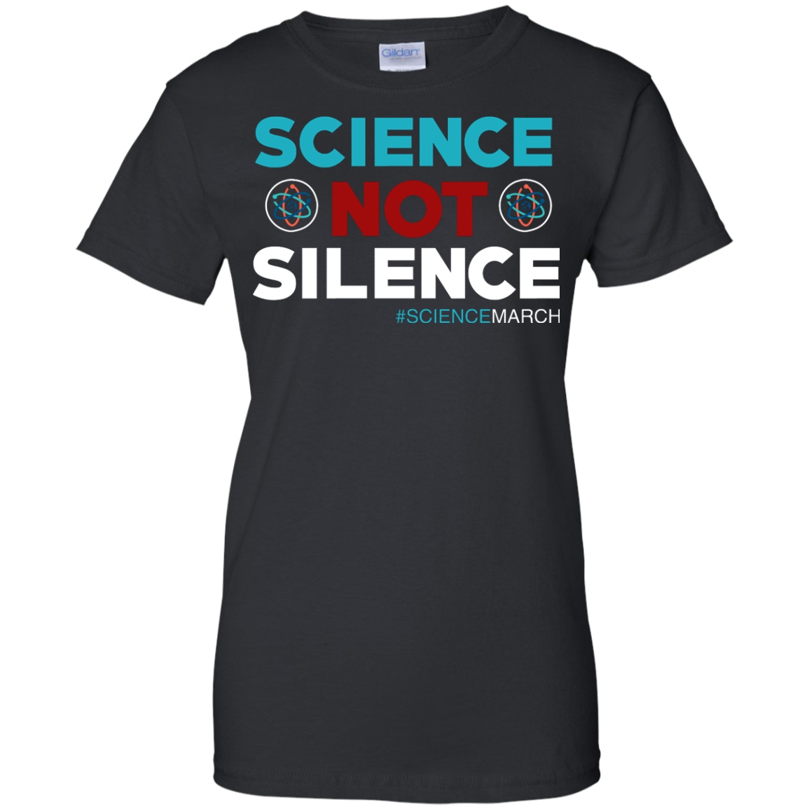 image 77px Science Not Silence, Science March Shirt