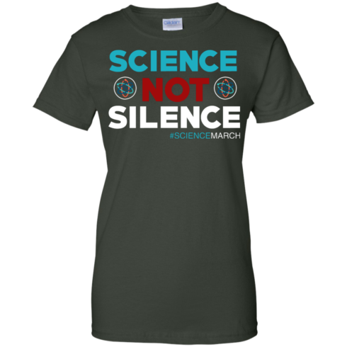 image 78 490x490px Science Not Silence, Science March Shirt