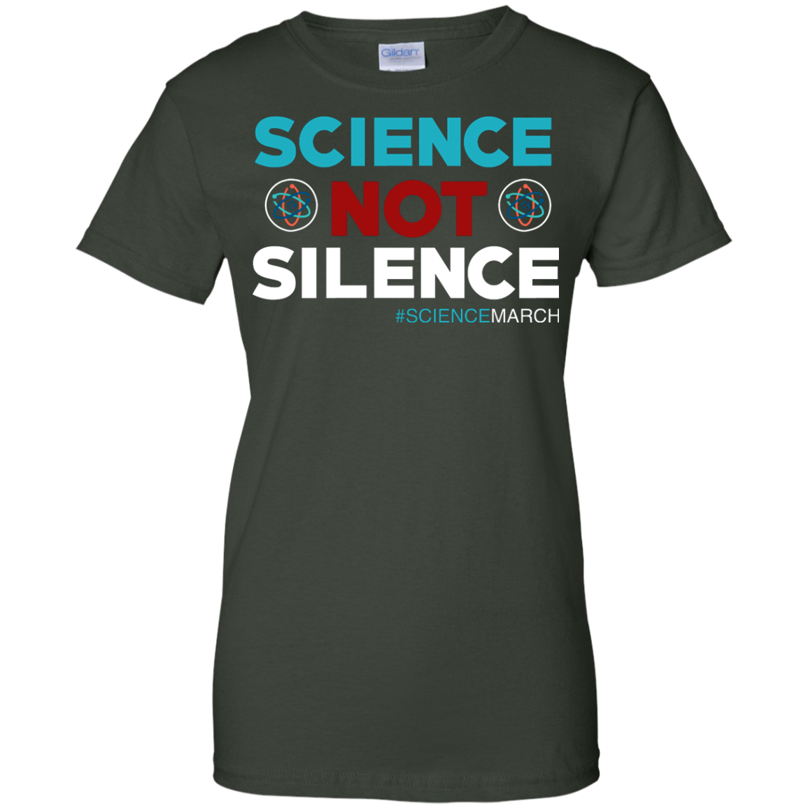 image 78px Science Not Silence, Science March Shirt