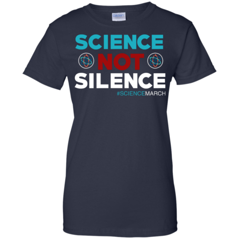 image 79 490x490px Science Not Silence, Science March Shirt