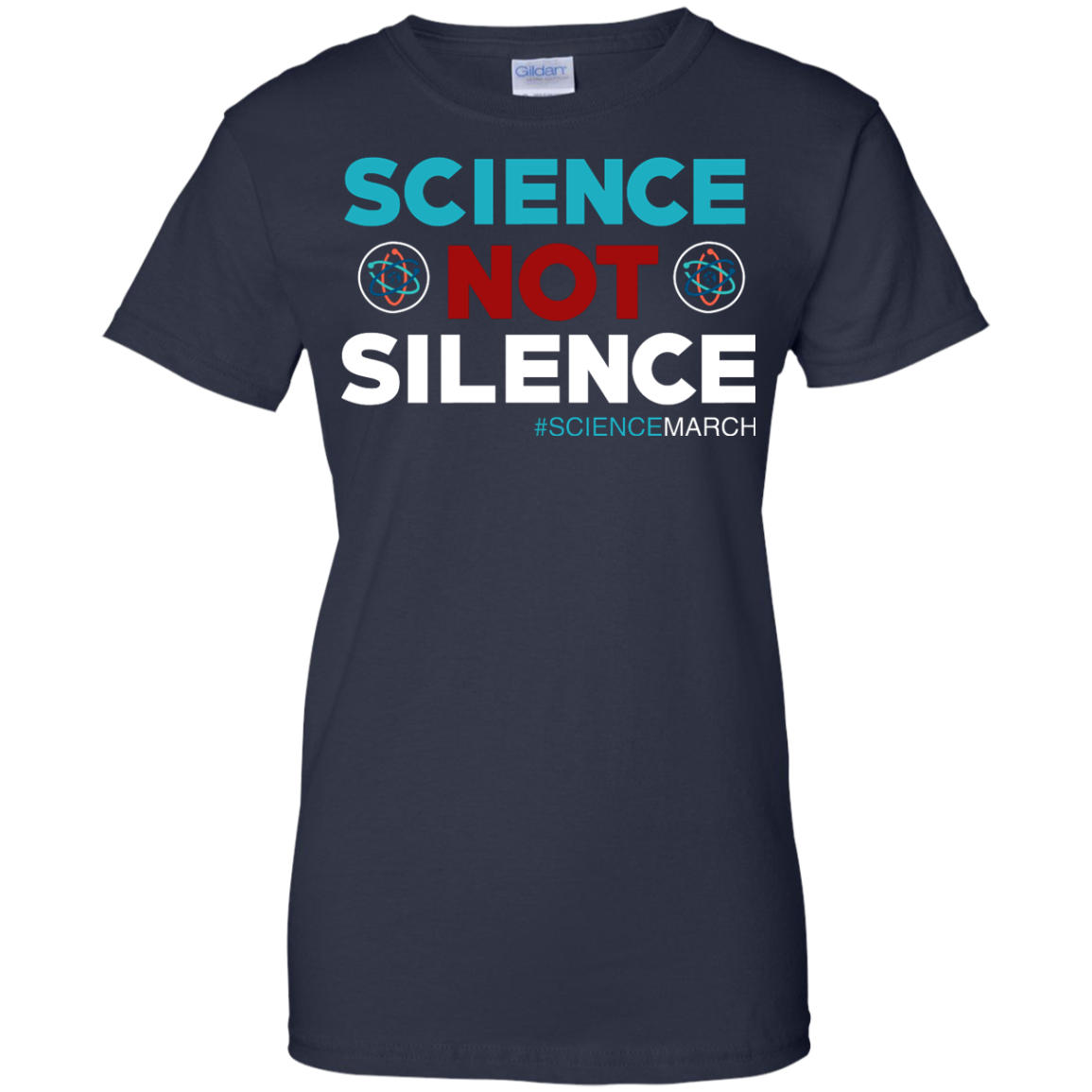 image 79px Science Not Silence, Science March Shirt