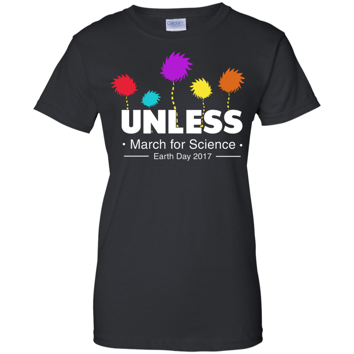 image 8px Tom Hanks: Unless, March For Science 2017 T Shirt